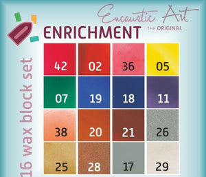 Encaustic Art Wax Paint: Enrichment Set