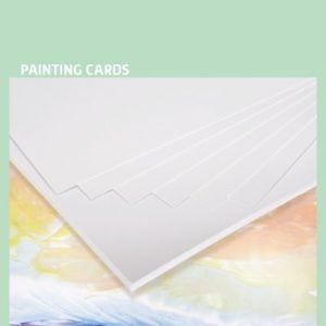 Encaustic Art Painting Cards: A4-A6 Assorted Sizes, White
