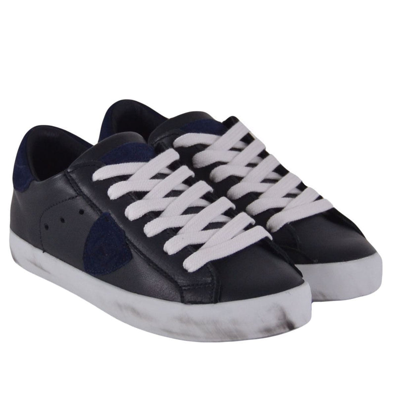 Philippe Model sneakers Paris Veau bambino blu