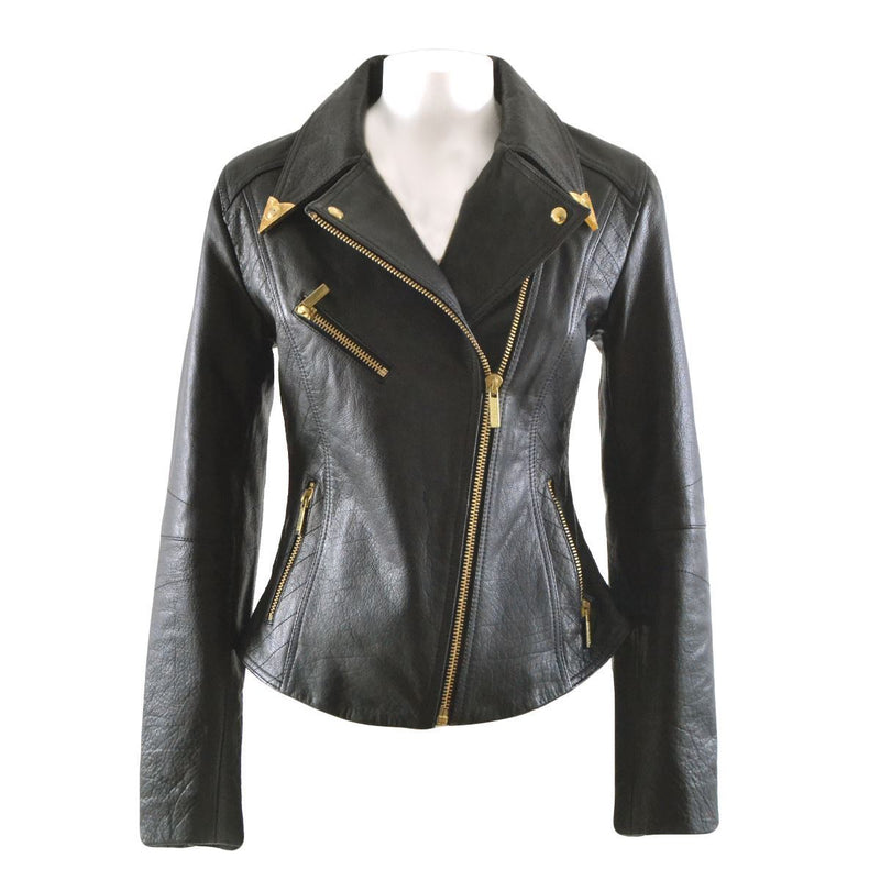 Versace Jeans Couture giacca biker donna nera