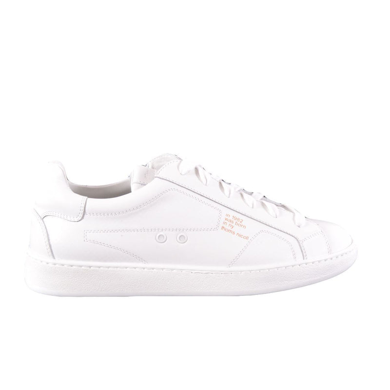 Thoms Nicoll sneakers basse uomo bianche
