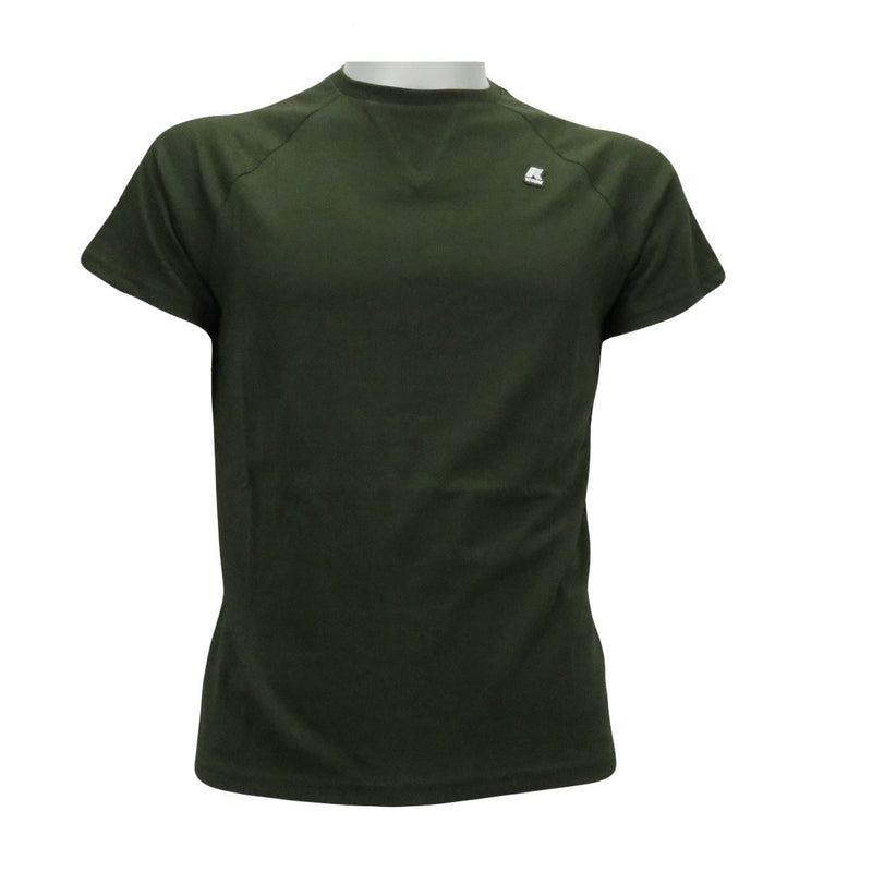 K-WAY t shirt uomo verde