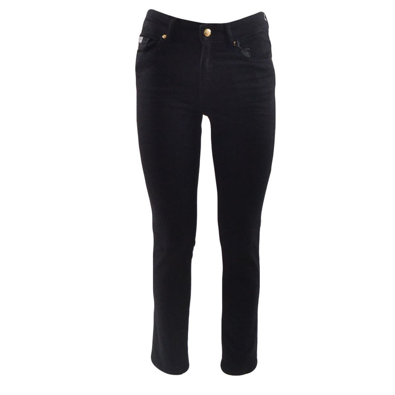 Versace Jeans Couture jeans a sigaretta donna neri