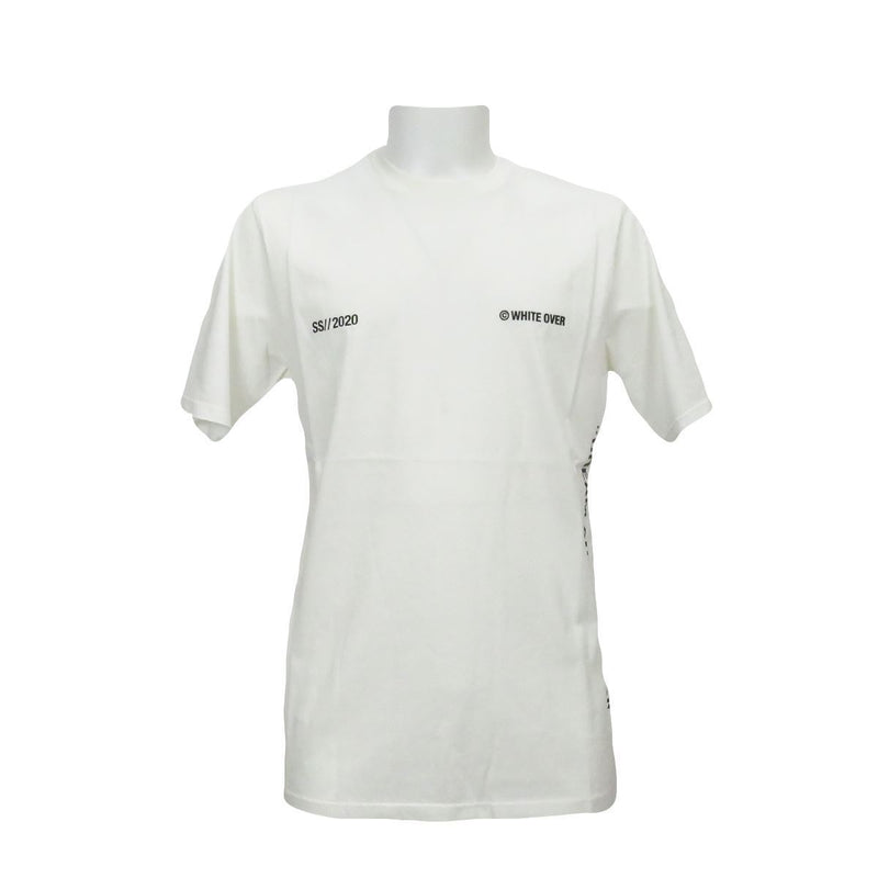 White Over t-shirt essential uomo bianca