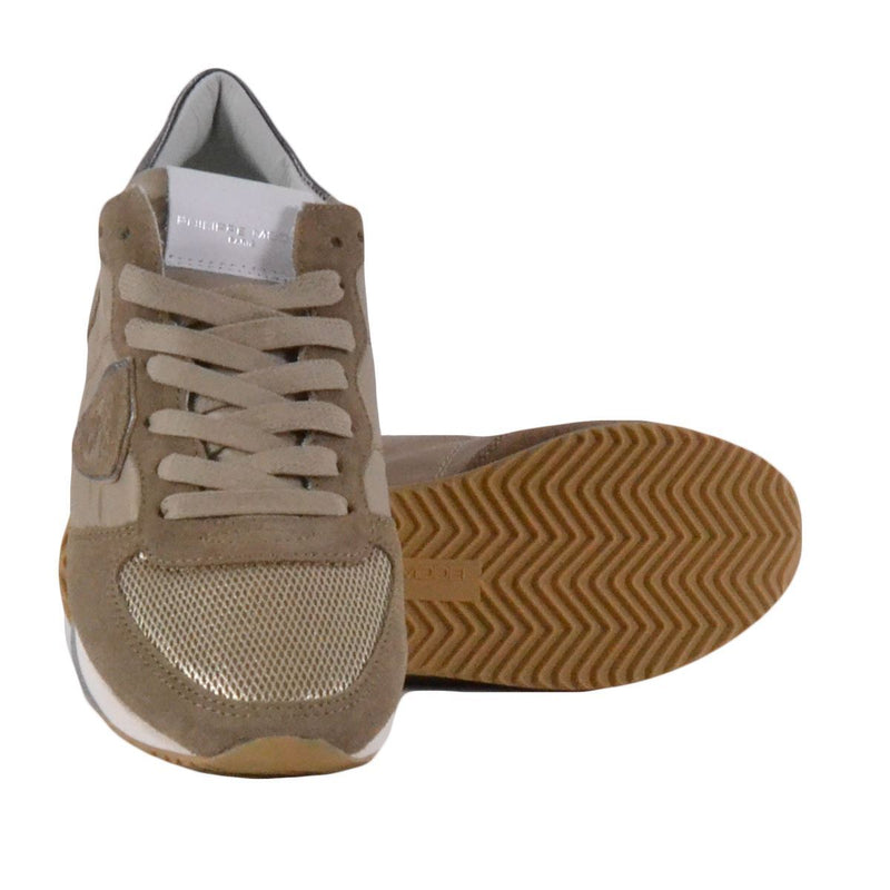 Philippe Model Trpx sneakers basse donna beige