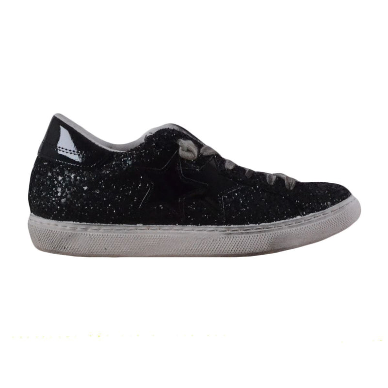 2Star sneakers donna glitterate nere