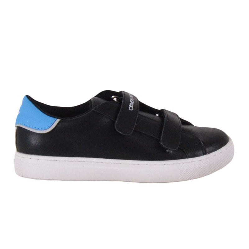 Crime London sneakers bambino nere con strappi