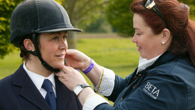 ef02e4f10d7de What makes someone a trained riding hat fitter?