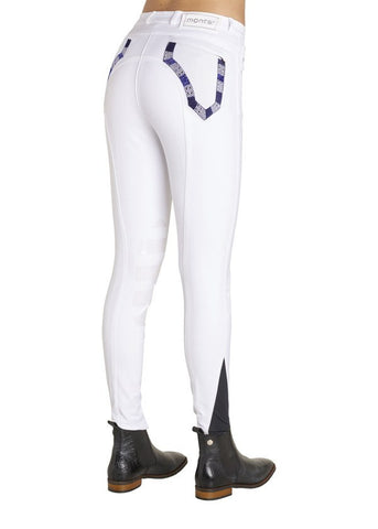 Lily Breeches In White