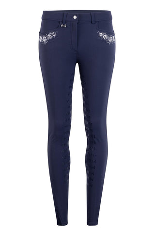 Montar Melissa Crystal Flowers Breeches