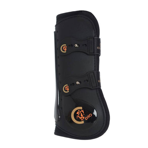 Black Kentucky Elastic Tendon Boot