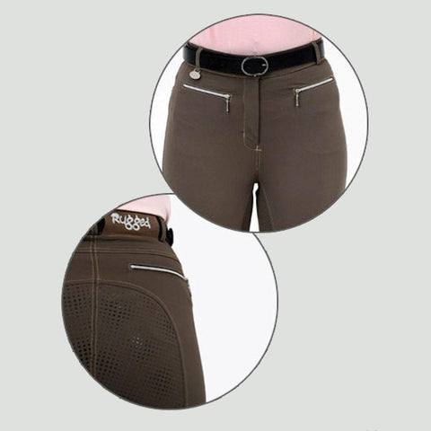 Rugged Gel Seat Breeches