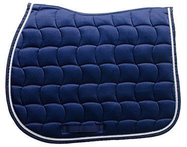 Navy Harcour Saddle Pad