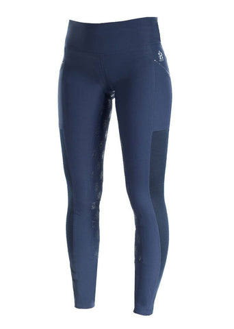 Leah Breeches In Navy Front