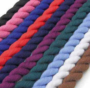 Cotton Plain Lead Rope In All Colors