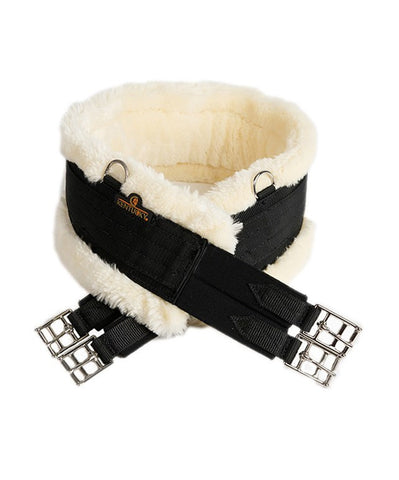 Sheepskin Girth In Black