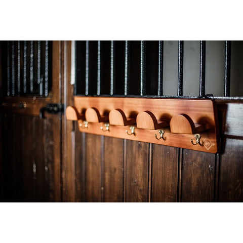 Kentucky Deluxe Wooden Bridle Rack
