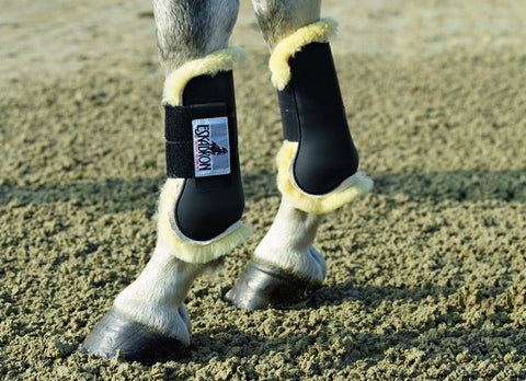Fluffy Tendon Boots