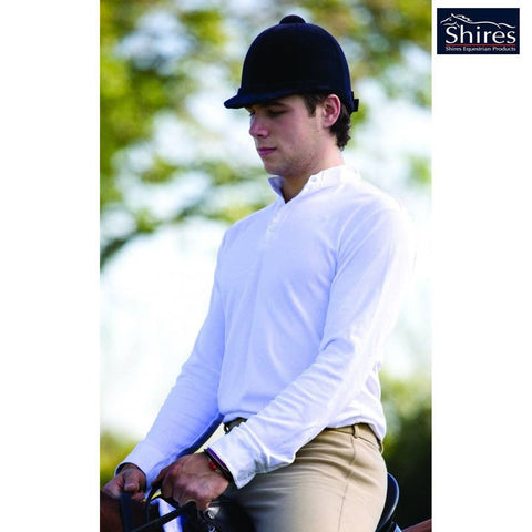 Shires Hunting Shirt On Male Model