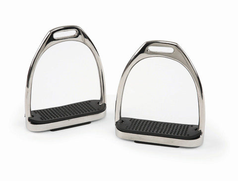 Bridleway Stirrup Irons With Tread