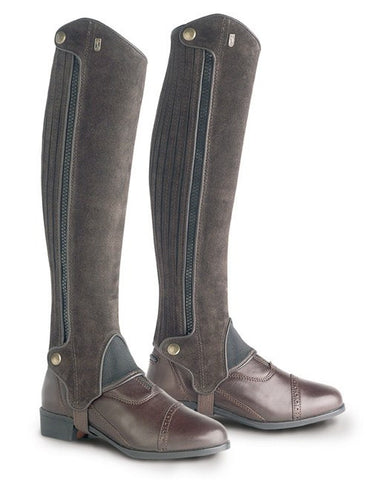 Brown Tredstep Extreme Suede Half Chap