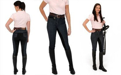 Rugged Denim Jeans breech 3 views