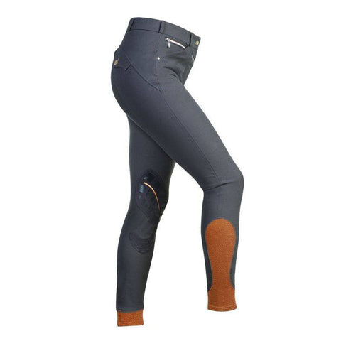 Grey/Orange Equinox Ladies Breeches
