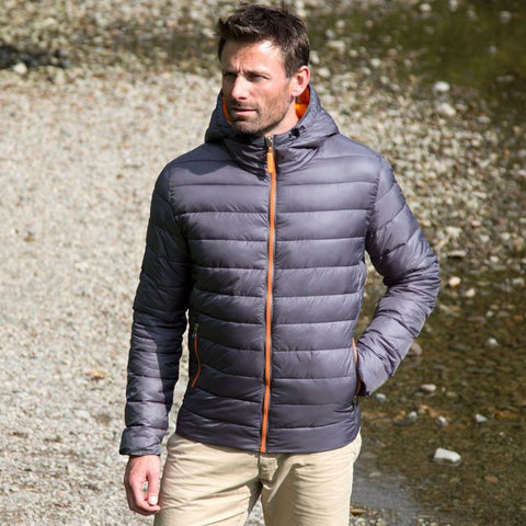Grey/Orange Result Urban Mens Jacket