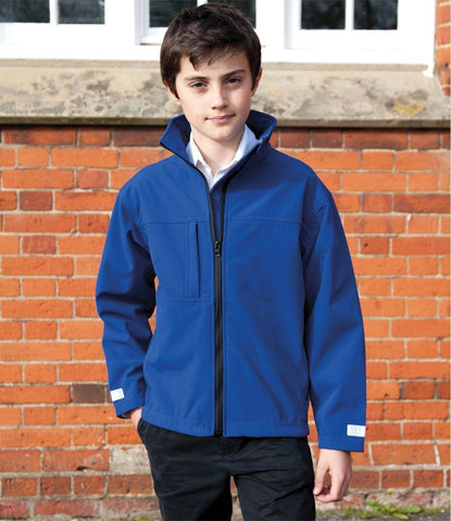 Kids Result Soft Shell Jacket