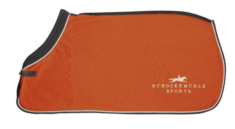 Schockemohle First Class Fleece Rug in Orange