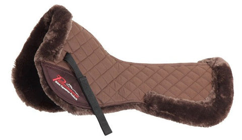 Supafleece Half Pad In Brown