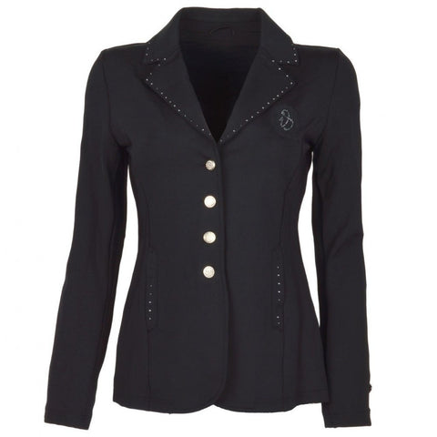 Imperial Riding Starlight Jacket in Black Front shot