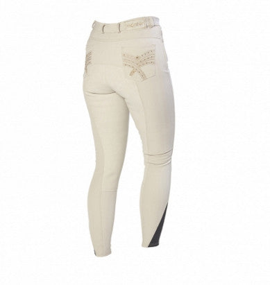 Beige Montar Bamboo Silicone Breeches