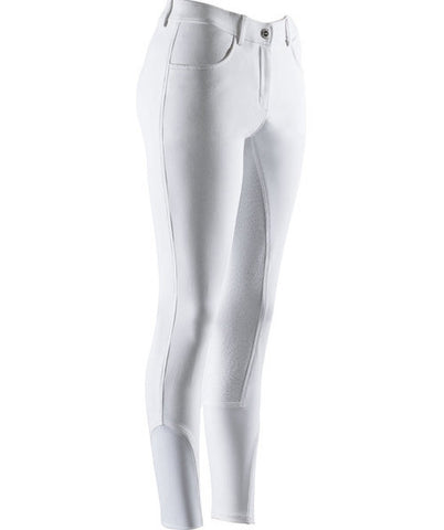 White Ekkia Silicon Seated Breech front view