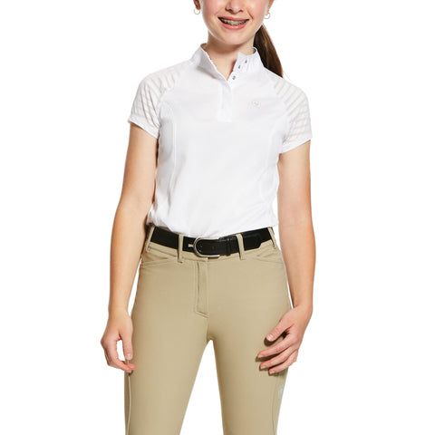 Ariat Girls Aptos Vent Show Shirt
