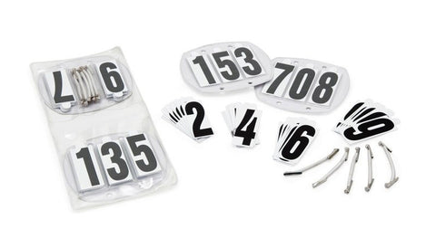 Bridle Number Kit Shown