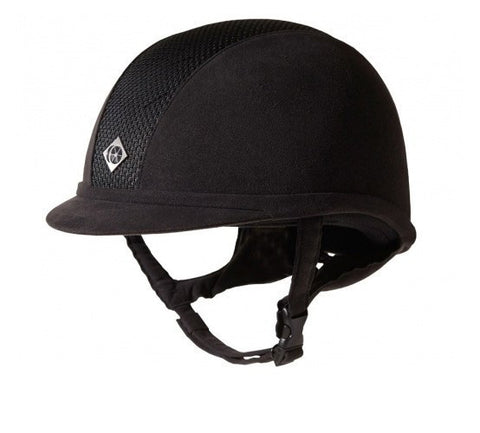 Ayr 8 Microsuede Helmet In Black