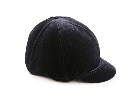 Black Shires Velvet Hat Cover