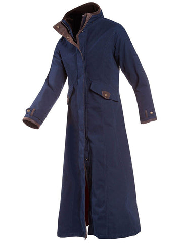 Navy Baleno Kesington Long Coat