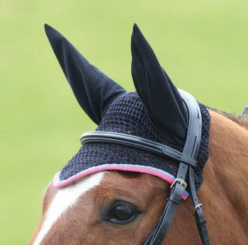 Black/Blue/Pink Bridleway Fly Veil