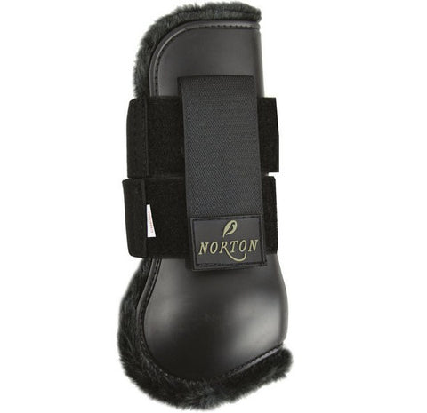 Black Norton Comfort Tendon Boots