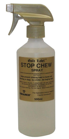 Gold Label Stop Chew Spray