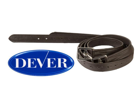 Dever Curved Buckle Stirrup Leathers