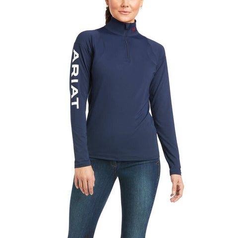 Ariat Auburn 1/4 Zip Baselayer