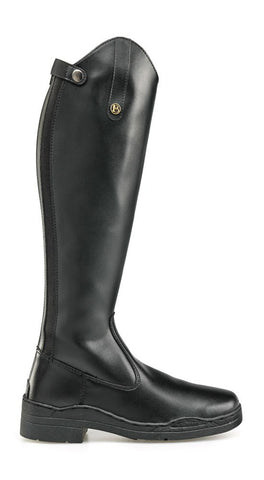 Black Brogini Synthetic Long Boot