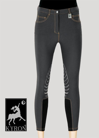 Front view of the Kyron Kontact Mens Breech - Anthracite