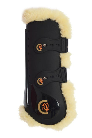 Sheepskin Elastic Tendon Boots