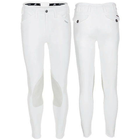 White Pikeur Rodrigo Mens Breeches