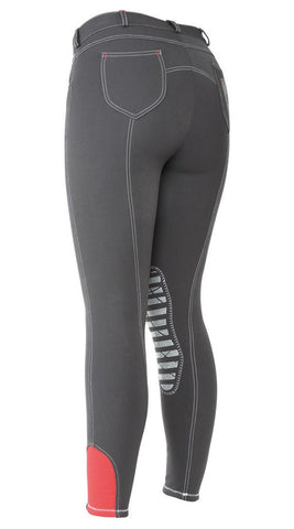 Bridleway Pixley Breeches In Grey