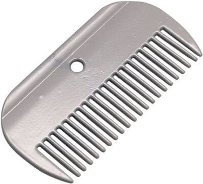 Large Metal Mane Comb Shown